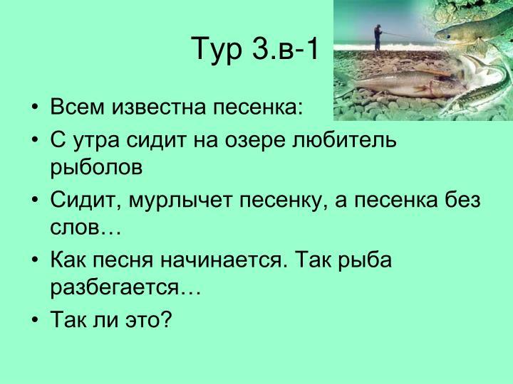 Тур 3.в-1