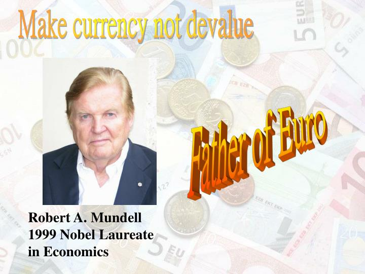 Make currency not devalue