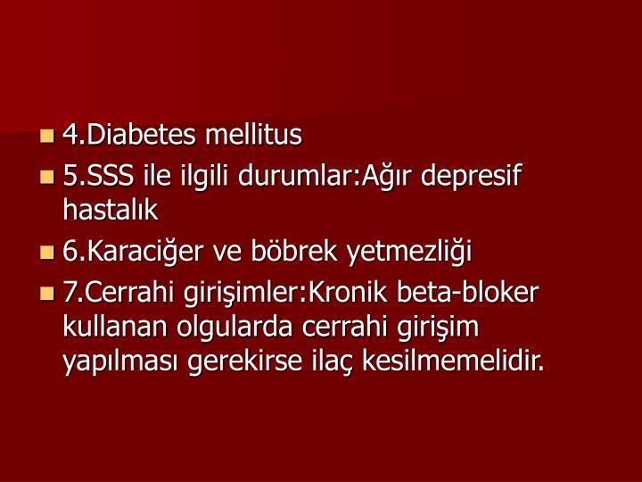 4.Diabetes mellitus