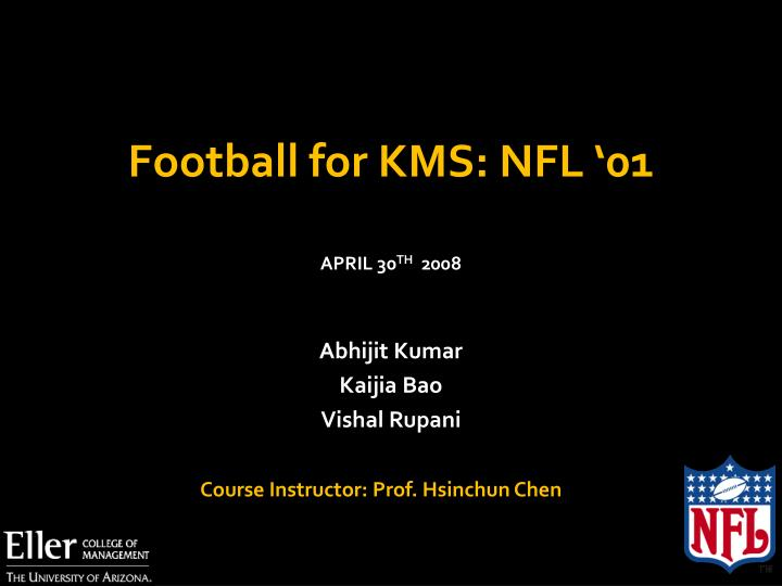 Football for kms nfl 01