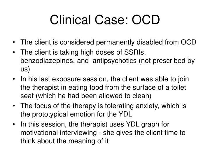 Clinical Case: OCD