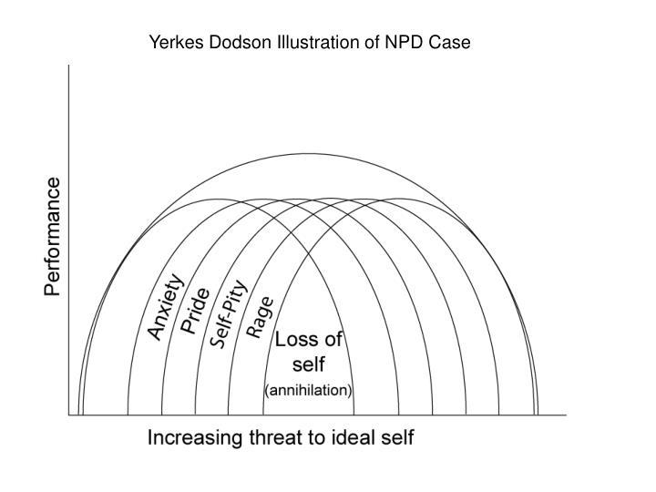 Yerkes Dodson Illustration of NPD Case
