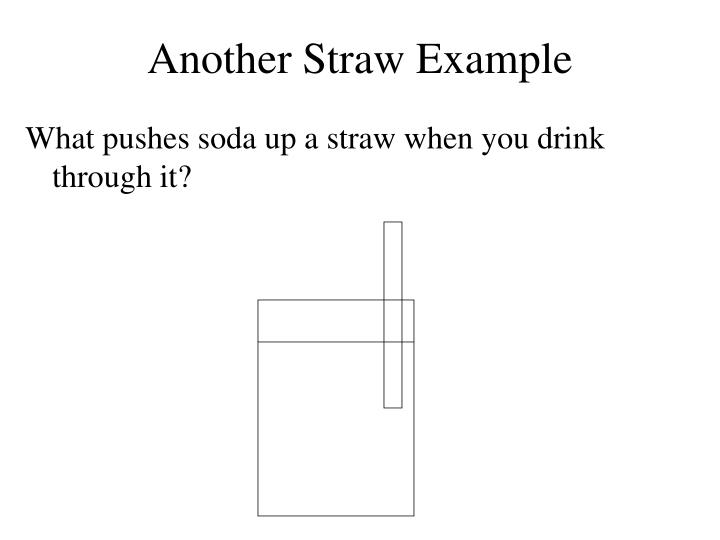 Another Straw Example