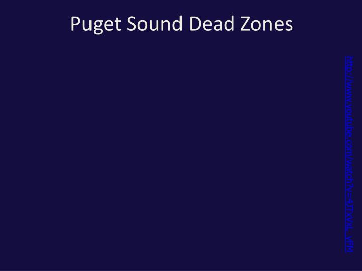 Puget Sound Dead Zones
