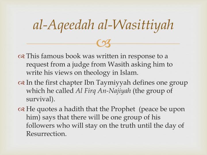 al-Aqeedah al-Wasittiyah