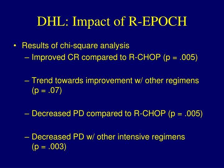 DHL: Impact of R-EPOCH