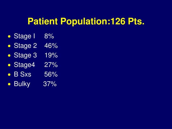 Patient Population:126 Pts.
