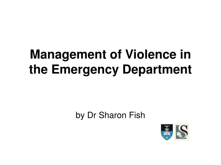 Emergency Department Violence: An Overview and ... - acep.org