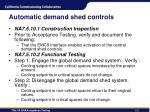 automatic demand shed controls1