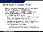 construction inspection verify