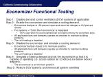 economizer functional testing