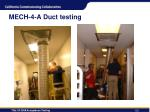 mech 4 a duct testing