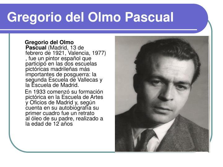 Gregorio del Olmo Pascual