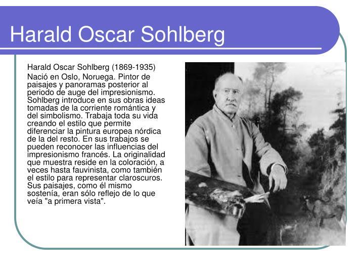 Harald Oscar Sohlberg