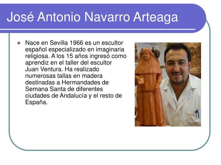 José Antonio Navarro Arteaga