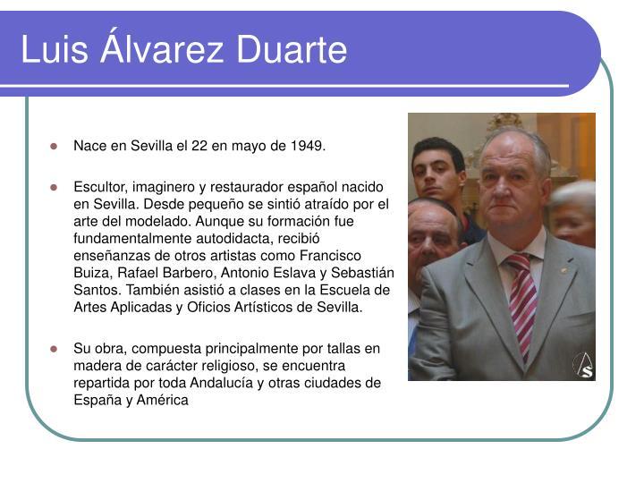Luis Álvarez Duarte