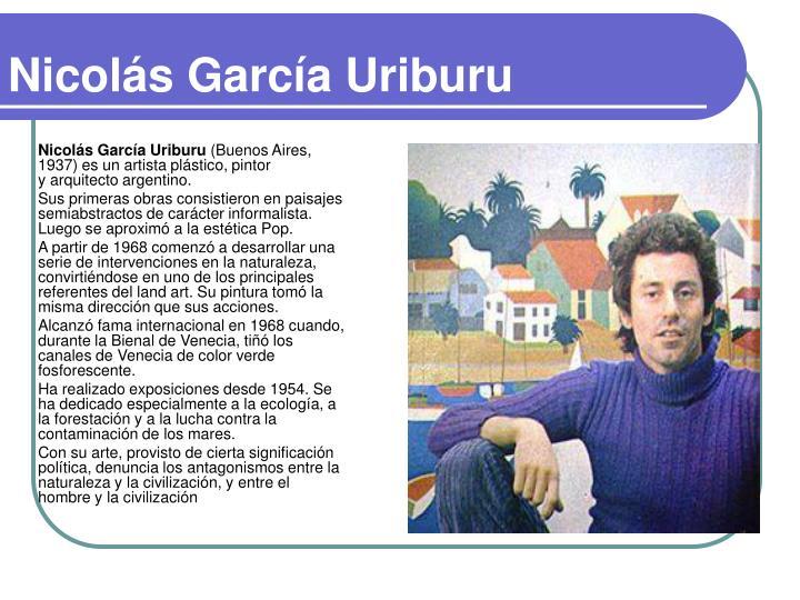 Nicolás García Uriburu