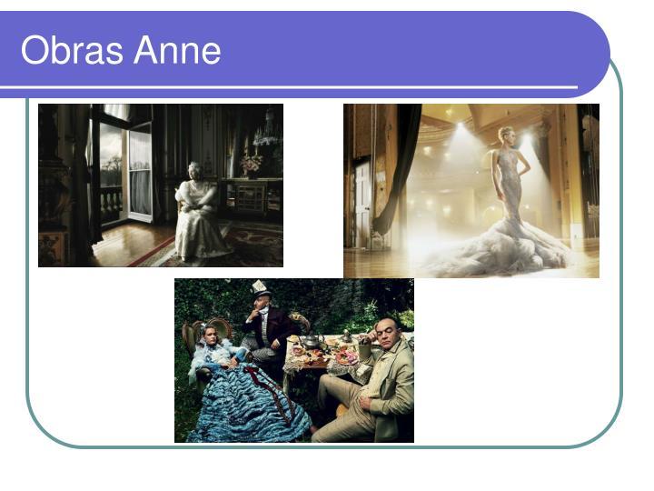 Obras Anne