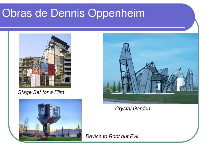 Obras de Dennis Oppenheim