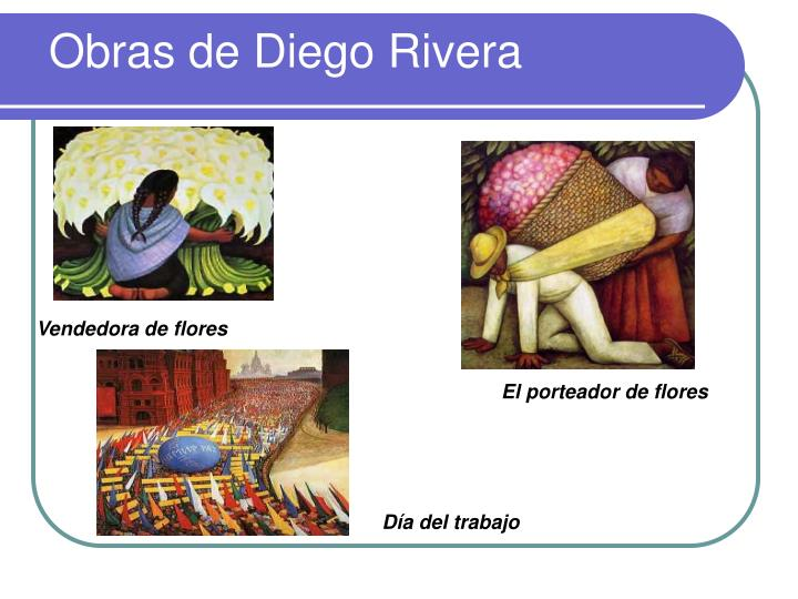 Obras de Diego Rivera
