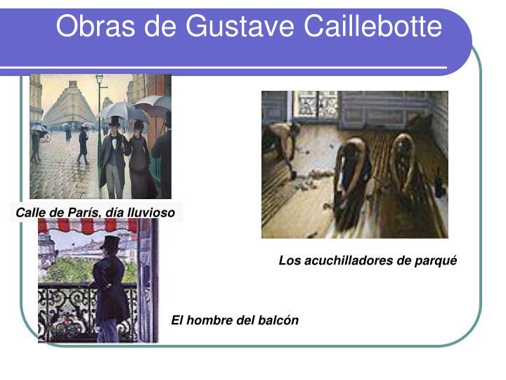 Obras de Gustave Caillebotte