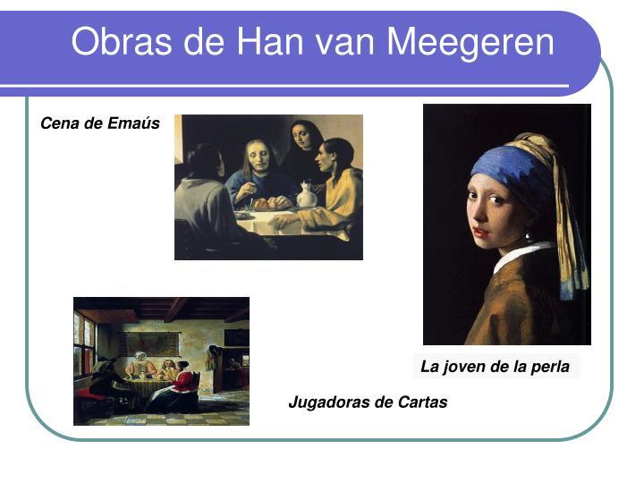 Obras de Han van Meegeren