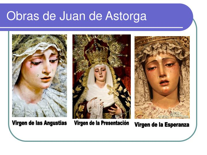 Obras de Juan de Astorga