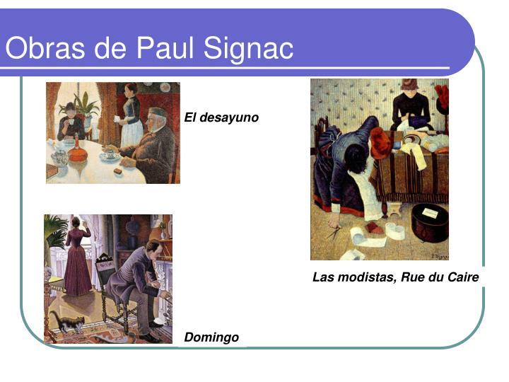 Obras de Paul Signac