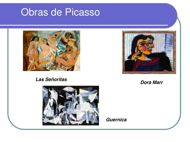 Obras de Picasso