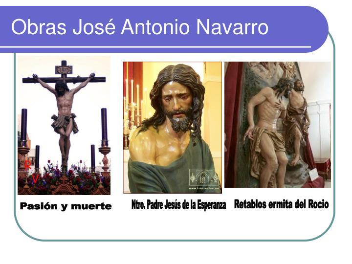 Obras José Antonio Navarro