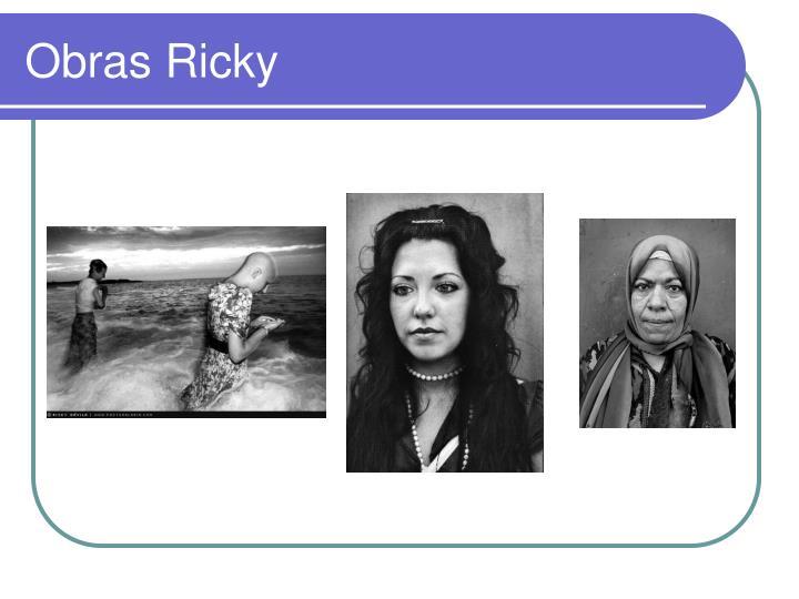 Obras Ricky