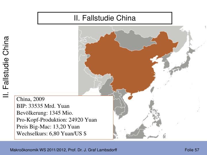 II. Fallstudie China
