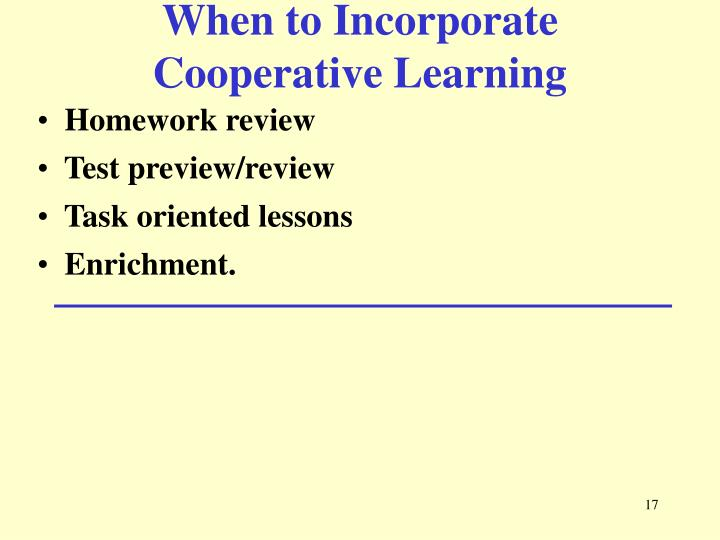 When to Incorporate