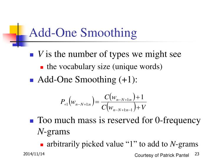 Add-One Smoothing