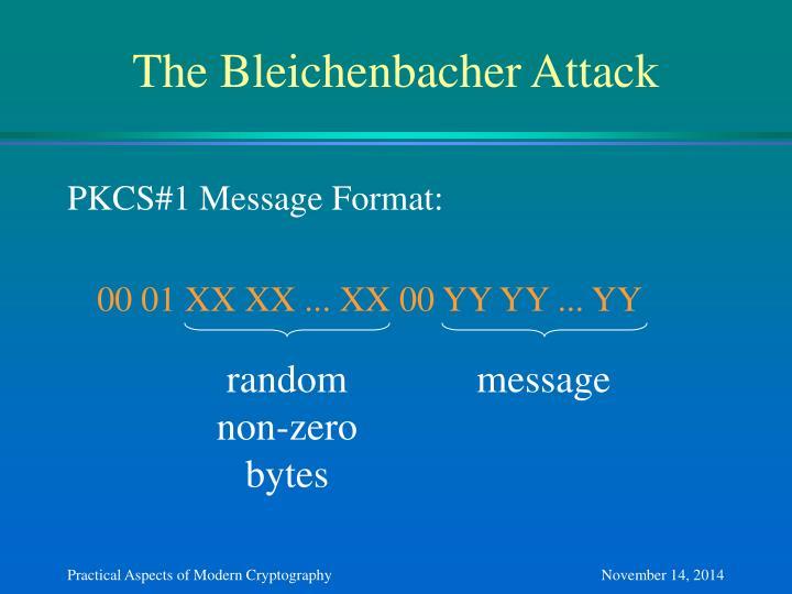 The Bleichenbacher Attack