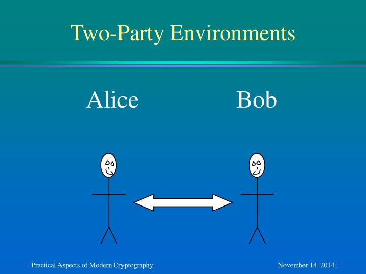 Two-Party Environments