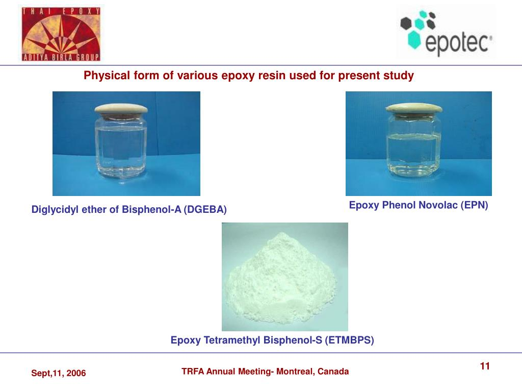 """PPT - """"Synthesis and study of a crystalline epoxy resin for high"""