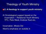 theology of youth ministry6