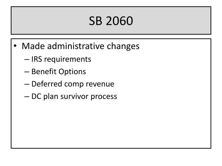SB 2060