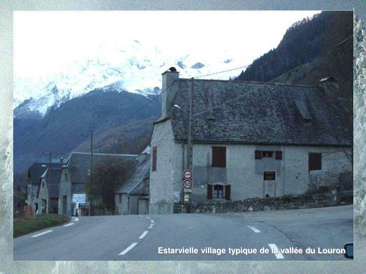 Estarvielle village typique de la vallée du Louron