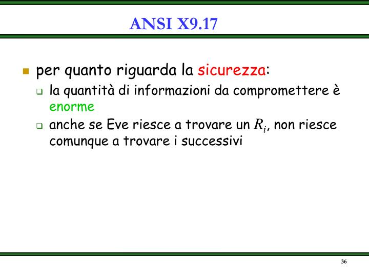ANSI X9.17