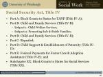 social security act title iv