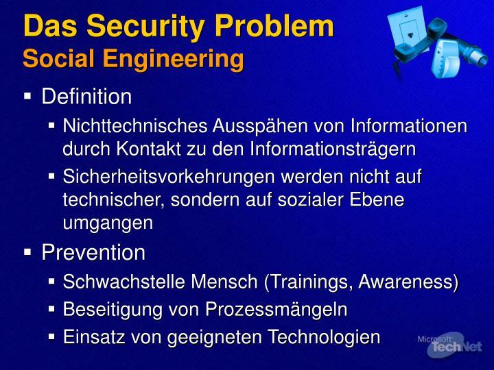 Das Security Problem