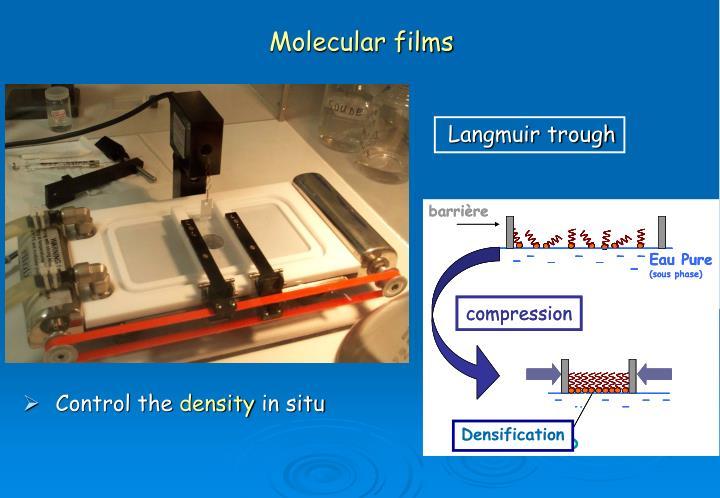 Molecular films