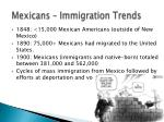 mexicans immigration trends