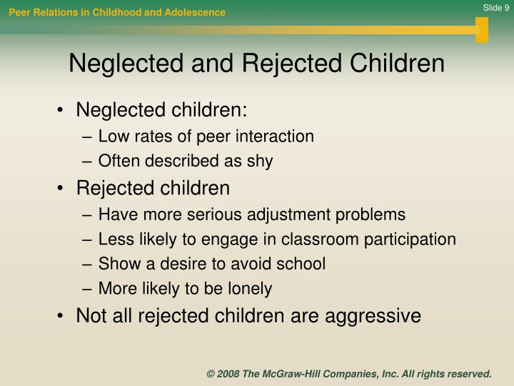 Peer Relations in Childhood and Adolescence