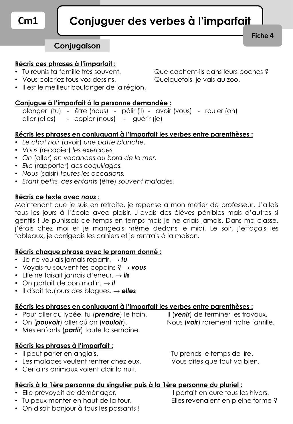 Ppt Conjuguer Des Verbes A L Imparfait Powerpoint Presentation Free Download Id 6604375