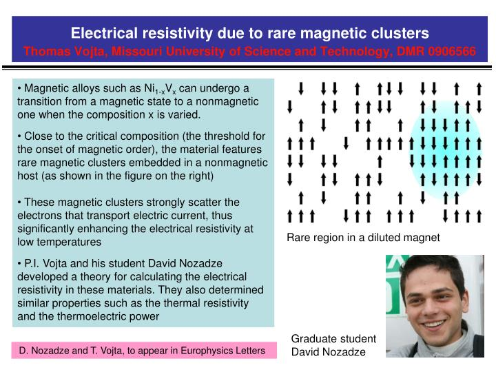 Electrical resistivity due to rare magnetic clusters