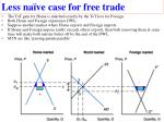 less na ve case for free trade