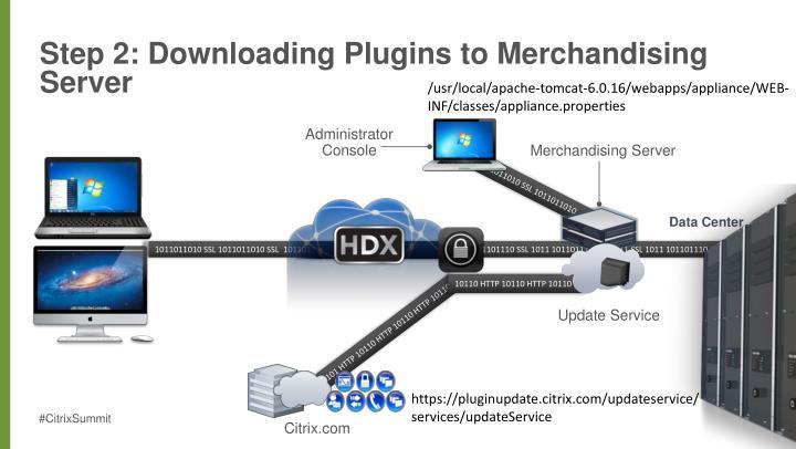 Step 2: Downloading Plugins to Merchandising Server